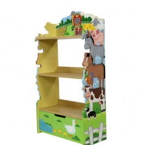 Teamson Happy Farm BookShelf