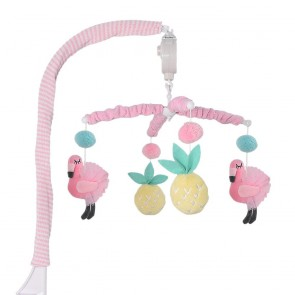 Flamingo Musical Mobile by Lolli Living