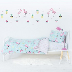 Flamingo Wall Decal Set by Lolli Living