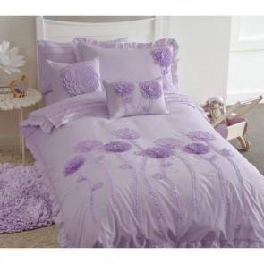 Whimsy Floret Lilac Single Quilt Cover Set