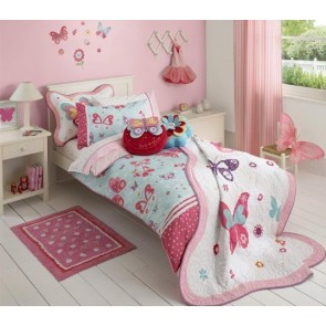Freckles Flutterby Quilt Cover Set