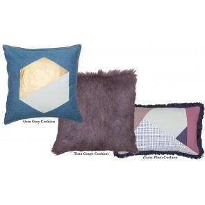 Bambury Zuma Plum Cushion