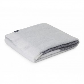 Ghost Mohair Throw Rug by St Albans