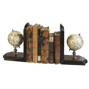 World Globe Bookends by AM Living