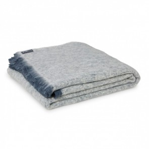 Granite Alpaca Throw Blanket by St Albans