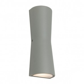 Graz Exterior Wall Light Charcoal by Cougar Lighting