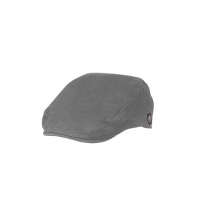Grey Cotton Twill Drivers Cap