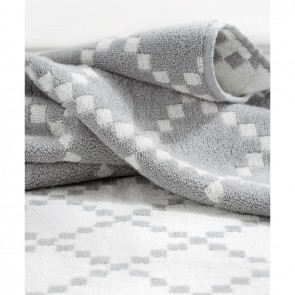 Linen and Moore Diamond Towel