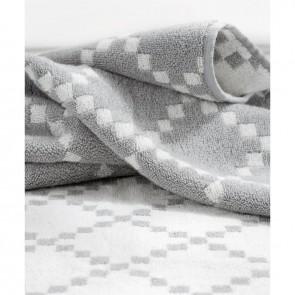 Linen and Moore Diamond Towel