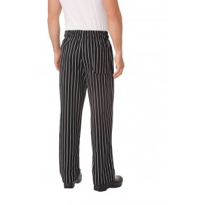 Chalkstripe Baggy Chef Pants by Chef Works