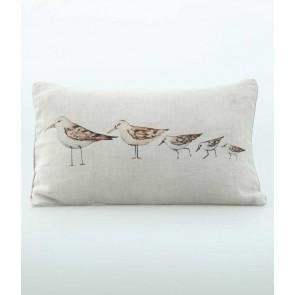 Gull Oblong Cushion by MM Linen