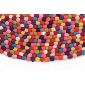 Gumball Multi Round By Rug Culture