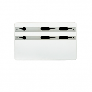 AllDock HybridX Wireless Compact White