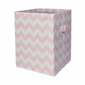 Ice Cream Pink Chevron Hamper by Lolli Living