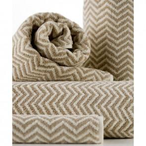 Linen and Moore Herringbone Towel