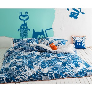 Kas Kids Howie Double Quilt Cover Set