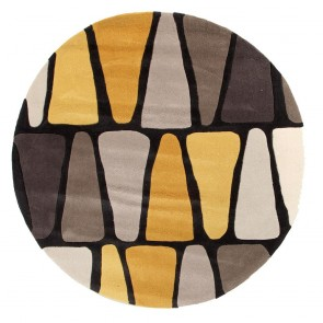 GOLD 623 BROWN AND GOLD ROUND