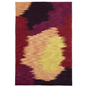 Gold 648 Red & Pink Multi By Rug Culture