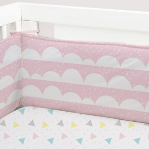 Ice Cream 2 Piece Cot Bumper Set by Lolli Living