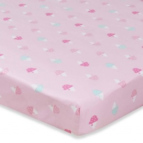 Ice Cream Cot Fitted Sheet by Lolli Living