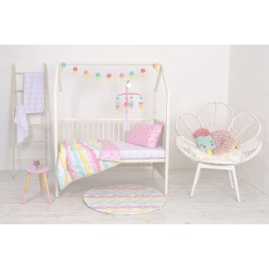 4-PIECE NURSERY SET - ICE CREAM