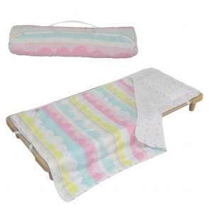Ice Cream Deluxe Childcare Nap Mat by Lolli Living