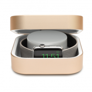 Amber Gold Apple Watch Case & Powerbank by Alldock