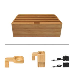 Alldock Medium Package Bamboo+One hand Docking Cables