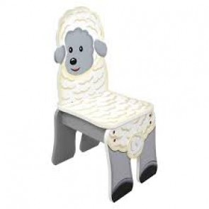 Teamson Happy Farm Kids Chair Sheep