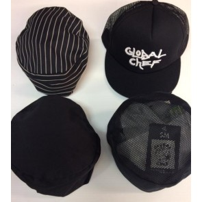 Black Chef Hat Bundle