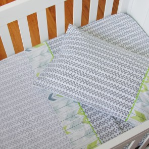 Jabali 3 Piece Cot Sheet Set by Living Textiles