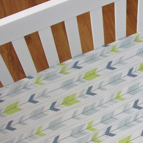 Arrow Fitted Sheet by Living Textiles