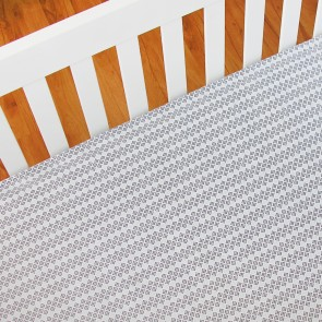 Dots Fitted Sheet by Living Textiles