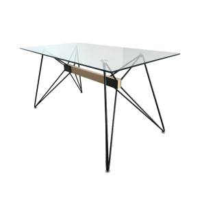 Japandi Web Table 150 cm by 6ixty