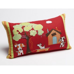 Jiggle & Giggle Oliver Oblong Cushion