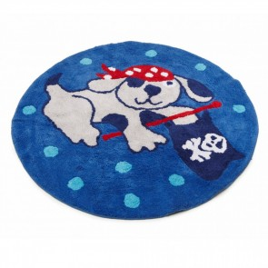 Jiggle & Giggle Ahoy There Round Floor Rug