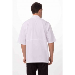 Montreal White Cool Vent Chef Jacket by Chef Works
