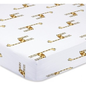 Aden and Anais Jungle Jam Giraffe Cot Sheet