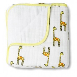 Aden and Anais Jungle Jam Giraffe Dream Blanket