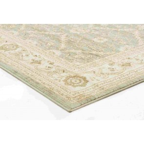 Jewel 800 Green Runner By Rug Culture