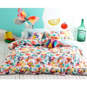 Kas Kids Kaleidoscope Single Quilt Cover Set