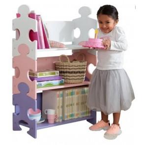 Kidkraft Puzzle Bookshelf, Pastel
