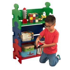 Kidkraft Puzzle Bookshelf, Primary