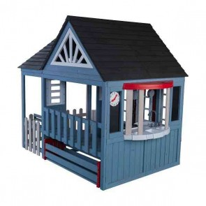 Kidkraft Timber Trail Wooden Outdoor Playhouse