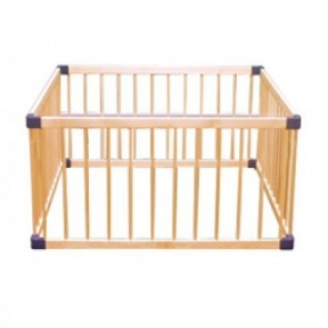 Babyhood Kiddy Cots Medium Playpen ( Square )