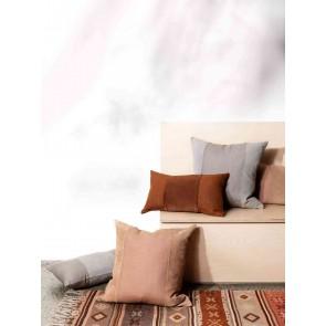 L&M Home Alec Fossil Mini Cushion