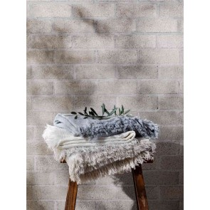 L&M Home Ava Fossil Throw