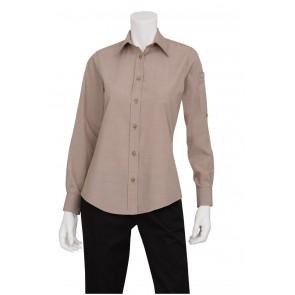 Ladies Chambray Ecru Shirt