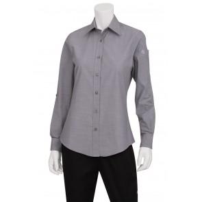 Ladies Chambray Grey Shirt
