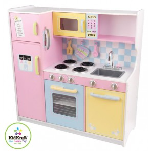Large Pastel Kitchen by Kidkraft